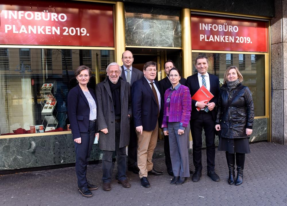 Planken-Infotag. Foto: Thomas Troester