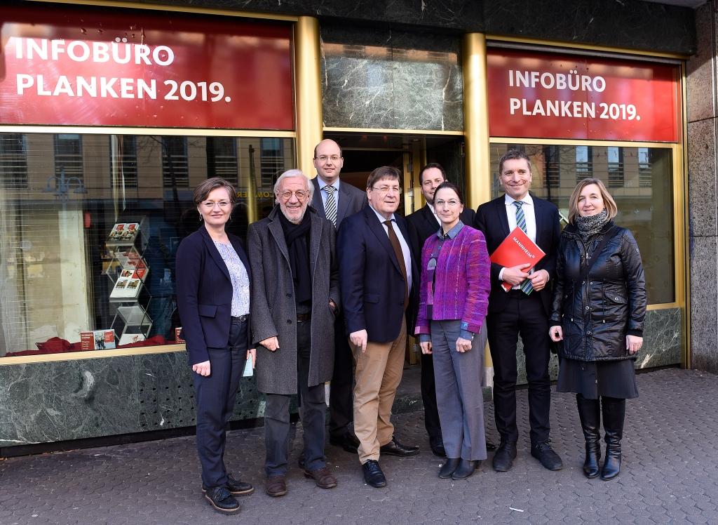 Das Infobüro Planken 2019 in O 2 eröffnet am 2. Februar. Copyright: Stadtmarketing Mannheim GmbH / Thomas Tröster